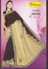 Designer Cotton Printed Sarees
