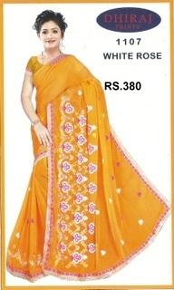 Cotton Designer Sarees