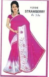 Designer Border Net sarees