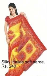 fancy schiffon sarees