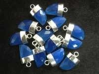 Blue Chalsydony Horn Gemstone