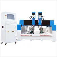 Stone CNC Router Double Head