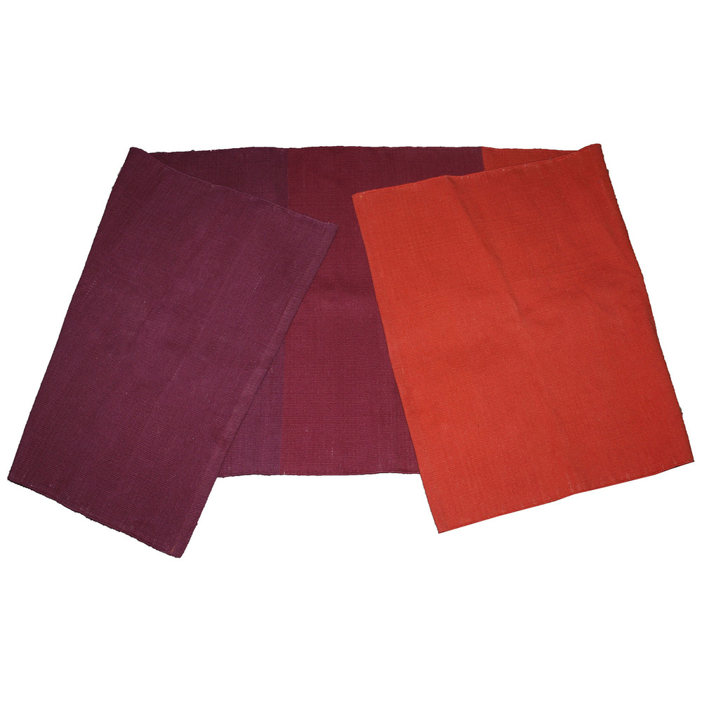 Yoga Rug/ Mat Red & Burgundy