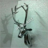 Aluminium Deer Head