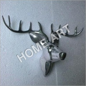Aluminum Wall Mounted Deer Head
