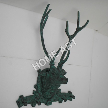 Antique Stag Head