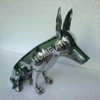 Aluminium Bull Terrier Dog Statue
