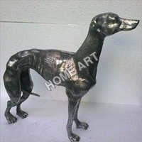Aluminium Greyhound Dog Statue