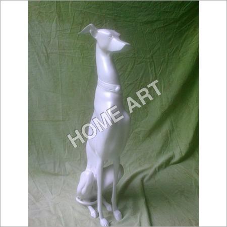 Aluminium Dog Statue