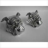 Aluminium Dog Book End