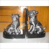Decorative Dog Bookend Pair