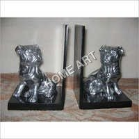 Attractive Dog Bookend Pair