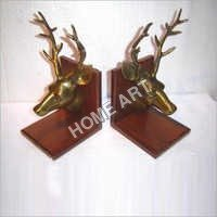 Antique Stag Bookend
