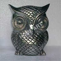Large Aluminum Owl Sculptures