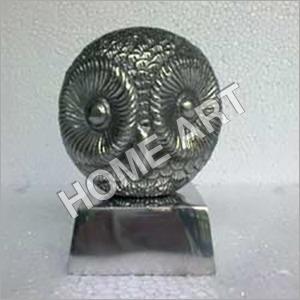 Aluminum Vintage Owl Sculpture
