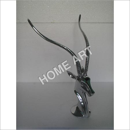 Aluminium Antelope Gazelle Head