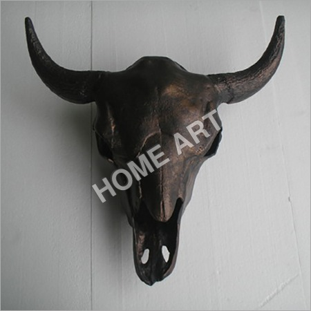 Metal Bull Head Skull Large