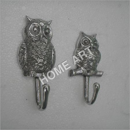 Designer Owl Coat Hook