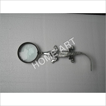 Aluminium Magnifying Glass