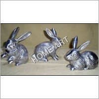 Aluminium Rabbit Sculpture