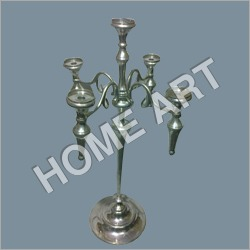 Five Hold Aluminum Candle Holder