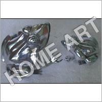 Aluminium Frog Sculpture