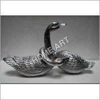 Aluminum Swan Sculpture
