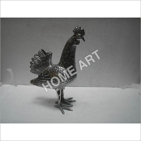 Small Metal Rooster