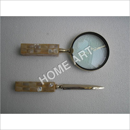 Letter Opener Magnifying Glass Set