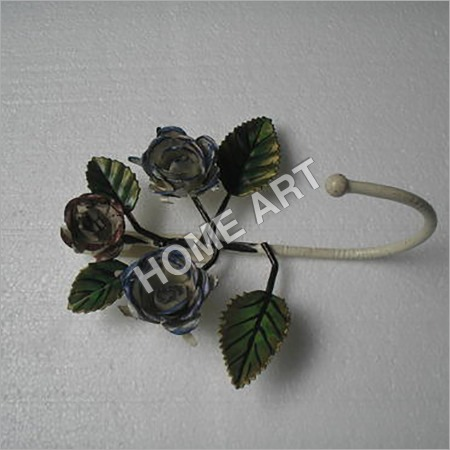 Black Rose Iron Hooks