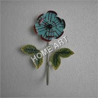 Blue Flower Iron Hooks