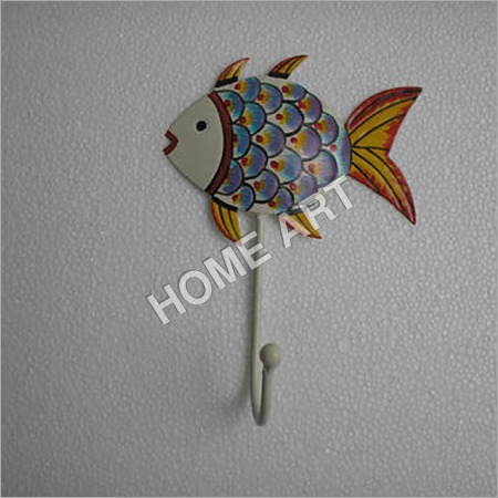 Iron Fish Coat Hook