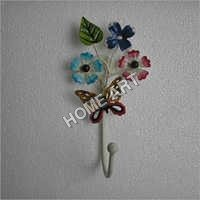 Iron Flower Coat Hook