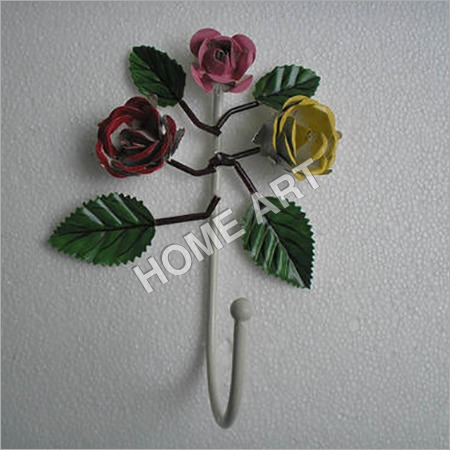Iron Rose Wall Hook