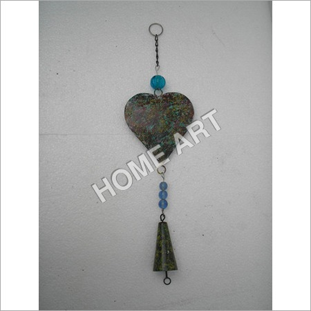 Iron Heart Shape Hanging Wind Chimes