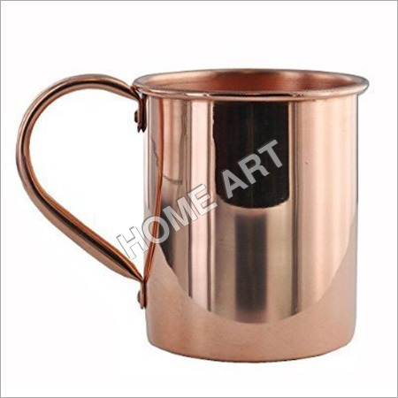 Solid copper Moscow Mule Drum Mug Smooth 16 Oz