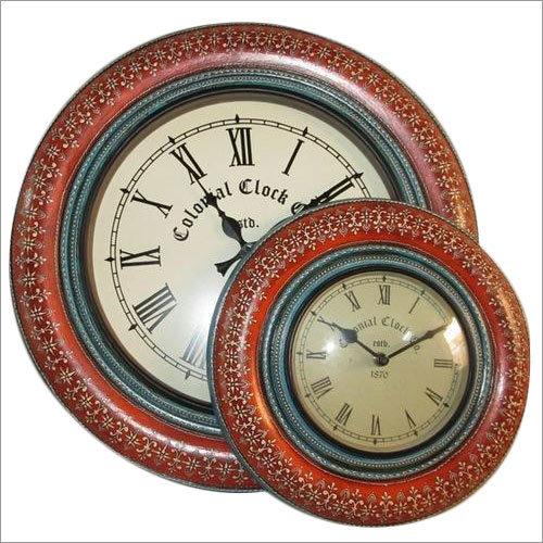 Design Wooden Wall Hanging Clock