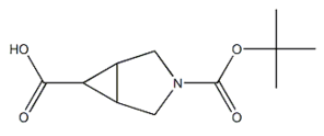 (1R,5S,6s)-3-(tert-butoxycarbonyl)-3-azabicyclo[3.1.0]hexane-6-carboxylic acid