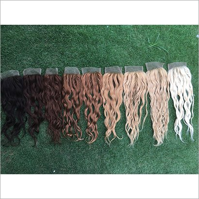 Colored Silk Base Lace Closures