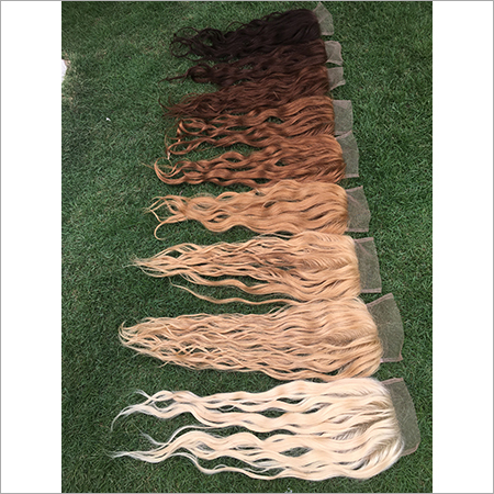 Coloured Lace Closures