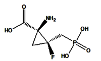 (1S,2S)-1-amino-2-fluoro-2-(phosphonomethyl)-Cyclopropanecarboxylic acid