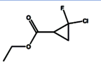 Ethyl 2-chloro-2-fluorocyclopropanecarboxylate