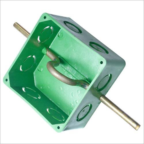 Heavy PVC Fan Box Green
