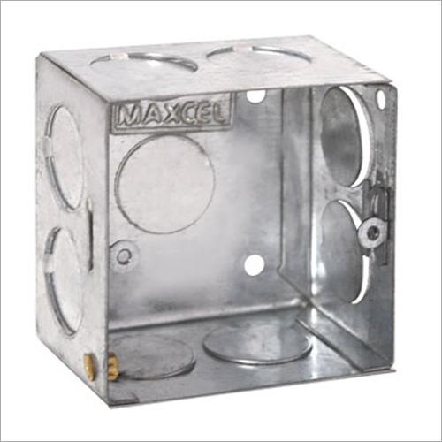 GI Metal Concealed Box 1 Module
