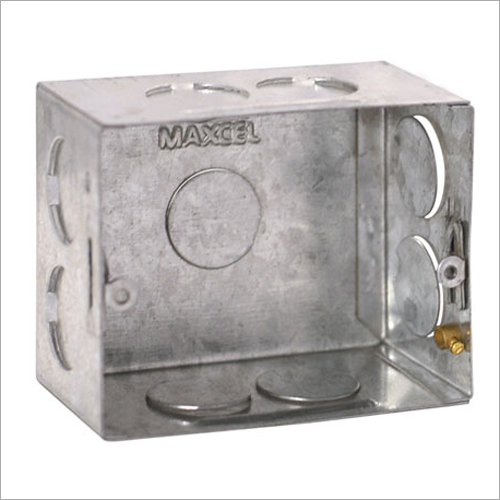 GI Metal Concealed Box 3 Module
