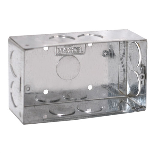 GI Metal Concealed Box 4 Module