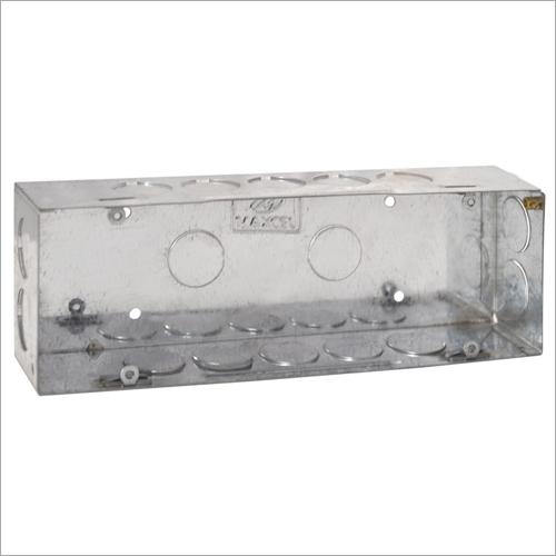 GI Metal Concealed Box 6 Module