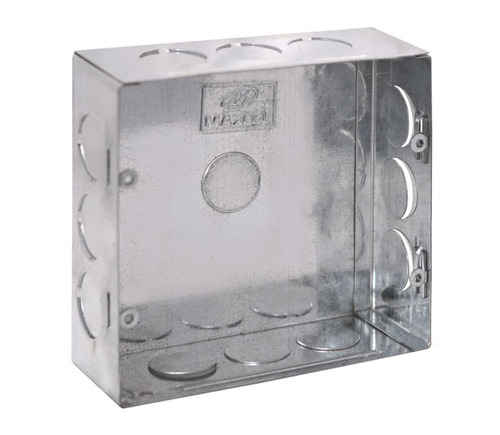 GI Metal Concealed Box 8 RE Module