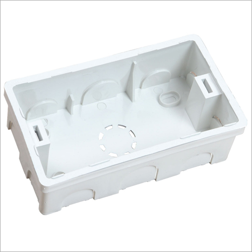 4 Module PVC Concealed Box