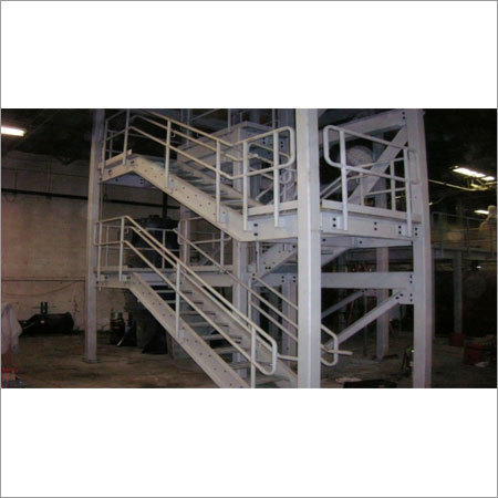 Industrial Staircase - MS Fabrication